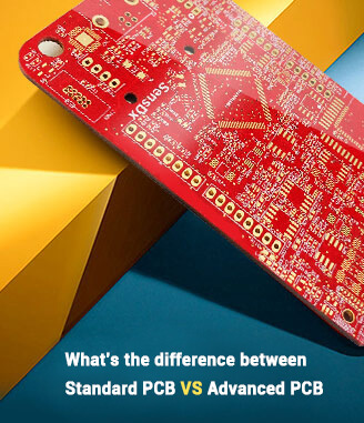 advanced pcb VS standard pcb